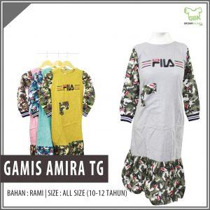 Gamis Amira Tanggung