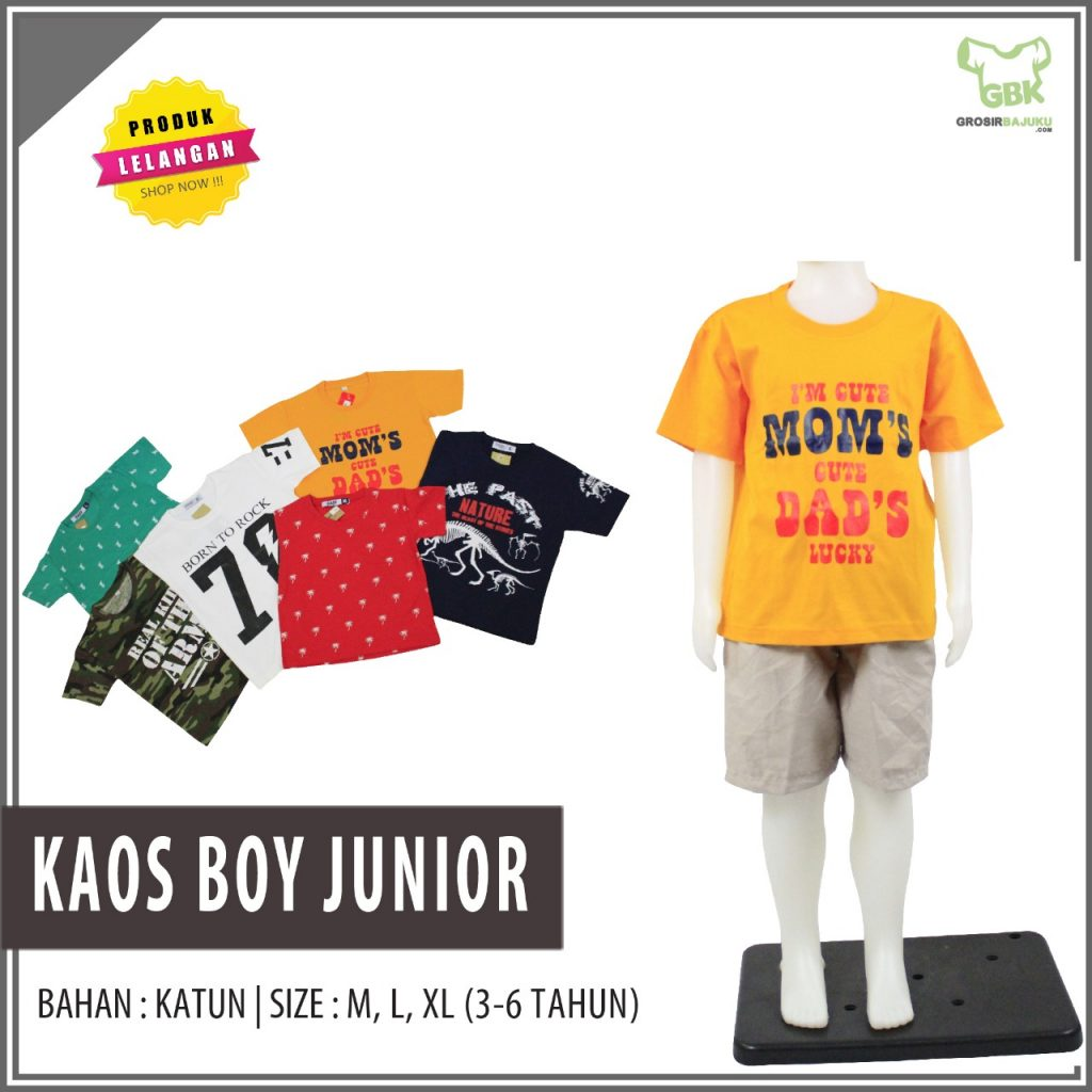 kaos boy junior