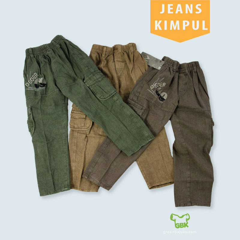 jeans kimpul anak murah