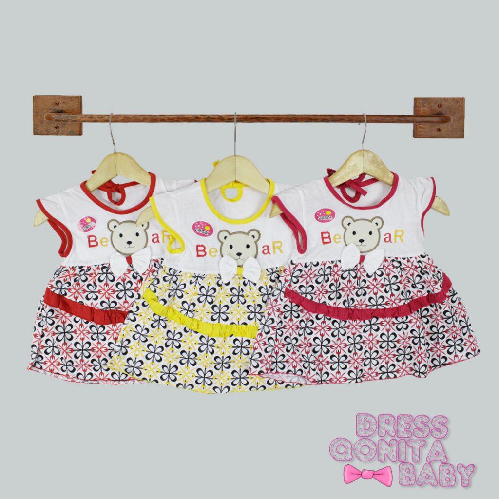 Grosir Dress Qonita Baby Murah